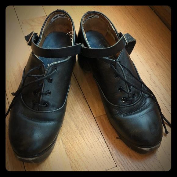 Fays Irish Dance Shoe Hard Shoe Size 25